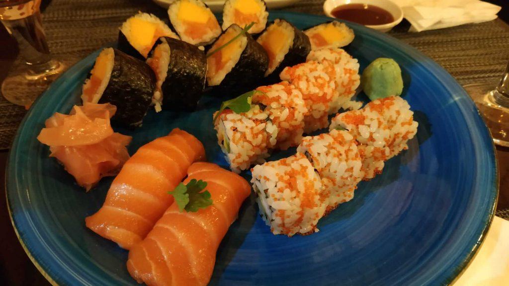 gyozas sushi gracia