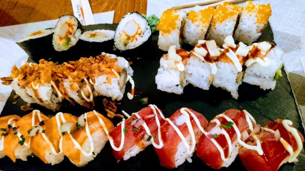 uramaki sushi glories barcelona