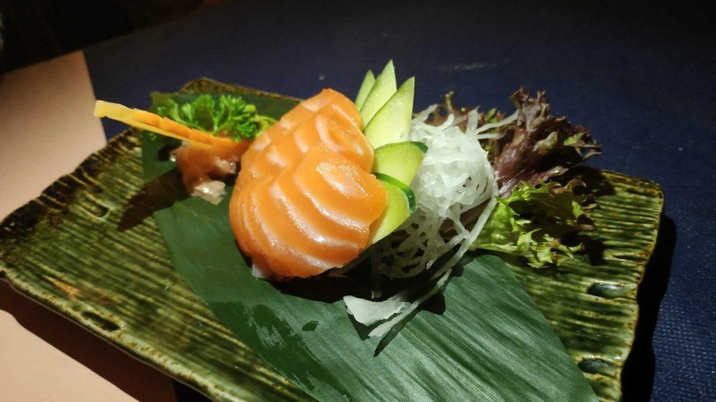 sashimi salmón gracia