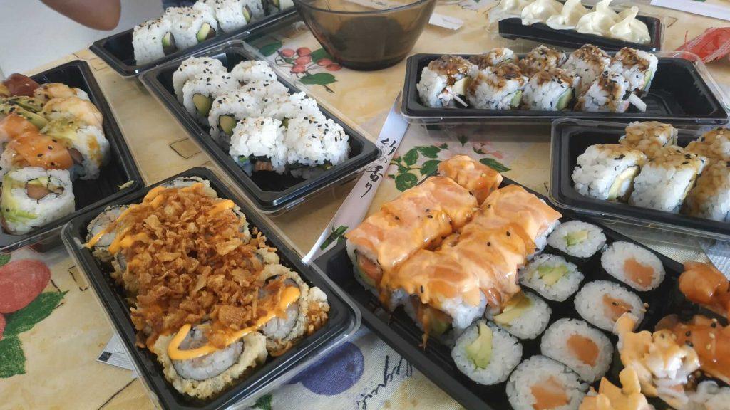 sushi take away barcelona